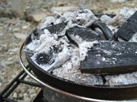 炭の着火方法