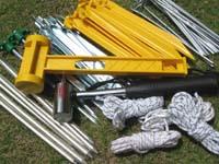 テント設営道具の選び方