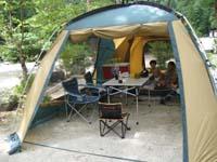 夏キャンプ2009 北恵那キャンプ場1