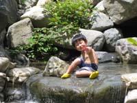 夏キャンプ2009 北恵那キャンプ場2