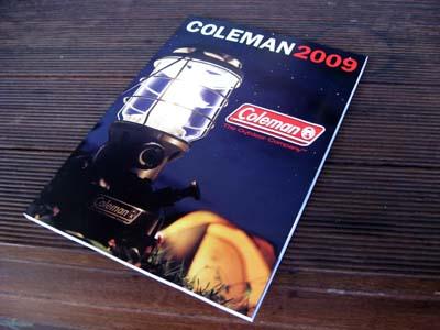 コールマン カタログ 2009