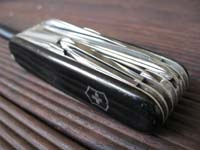 ビクトリノックスのナイフ