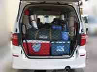 キャンプ道具・荷物を車へ積み込み1